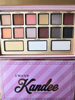 New Makeup I Want Kandee Eyeshadow Palette Limited Edition candy 15 Colors Eyeshadow Palette spedizione gratuita