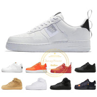 2019 Barato 1 Classic Black White Dunk Hombres Mujeres Zapatos Casuales red one Sports Skateboard High Low Cut Wheat Entrenadores Zapatillas 36-45