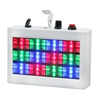 AUCD мини 12 из светодиодов звук активизированный стробоскоп RGB цвет вспышки света стробоскоп диско клуб этап эффект освещения партии задача-С12