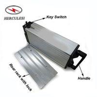 E-Bike Gepäckträger Batterie 60V 20Ah Lithium-Ionen-Batterie für 60V 1000W 2000W elektrischen Fahrrad-Kit