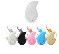 S530 Mini Wireless en la oreja del auricular manos libres auriculares estéreo Auriculares Blutooth graves Auricular Bluetooth para Samsung Smartphone Huawei Todos