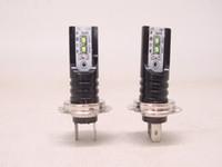 H7 LED 헤드 라이트 CSP 서울 칩 전구 CANBUS 오류 무료 자동차 자동차 운전 램프 쿨 화이트 6000K 30000LM 50W
