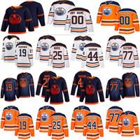 Edmonton Oilers Jersey 15 Josh Archibald 16 Jujhar Khaira 25 دارنيل ممرضة 41 مايك سميث 44 زاك كاسيان 39 اليكس تشياسون الهوكي الفانيلة
