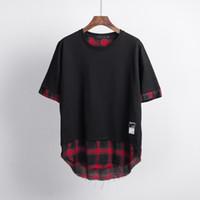 Designer Herren T-Shirt Mode Patchwork Sport T-Shirts Slim Comfort T-Shirt Baumwolle Herren Trends Qualität