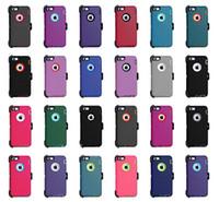 Robô Híbrido 3-em-1 Capas telefônicas de defesa para iPhone 13 Pro Max 12Pro 11 XR X 6 7 8 Samsung S21 PLUS S20 S9 Note20 Ultra com Cinto Espaço à Prova de Raspagem