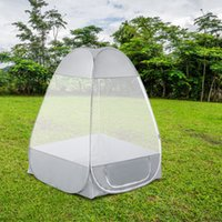 Outdoor Camping Tent Mosquito Net Meditation Single Sit- in F...