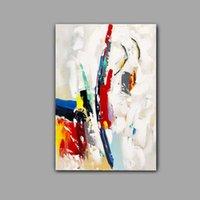 Handbemalte abstrakte Thick Ölgemälde auf Leinwand Moderne Wand-Kunst-Bilder Wohnkultur CX10