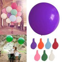 36 polegada colorido grande balões de látex hélio inflável inflável gigante balão de festa de aniversário de casamento grande decoração de balão