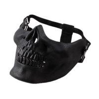 무서운 마스크 할로윈 해골 해골 파티 코스프레 할로윈 파티 소품 공급을위한 의상 반 얼굴 마스크 마스크