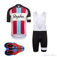 Rapha equipe ciclismo de mangas curtas jersey (babe) shorts colete sem mangas sets vestuário de bicicleta no verão desgaste confortável 9d gel acolchoado f0801