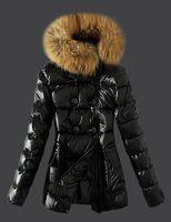 M85 Klassische Marke Frauen Winter Warme Daunenjacke Mit Pelzkragen Feder Kleid Jacken Womens Outdoor Daunenmantel Frau Mode Jacke Parkas