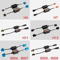 2 pezzi H4 H7 LED Headlight corredo Computer canceller d'avvertimento di carico ResistorsAnti Flicker dispositivo Tutte le dimensioni disponibili (H7 9005 9006)