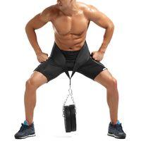 Home Fitness Equipment Haltères Ceinture de musculation Dip Ceinture Force Tirer vers le haut charge Gym Puissance Équipement d'exercice