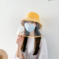 Protective Fisherman Hats Isolated Face Shield Mask Windproo...