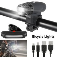 Bicycle Light Flash Front Light+ Taillight Rear Bicycle Light...