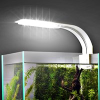 أكواريوم الخفيفة لخزان الأسماك زرعت حوض السمك 10W / 5W / 3W الصمام الخفيفة لحوض السمك إضاءة الصمام مكافحة الضباب كليب على أضواء مصباح وسيس