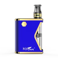 원래 Kangvape 미니 K vape 시작 키트 400mAh 박스 모드 0.5ml 카트리지를 예열 두꺼운 오일 4 색상 사용 가능