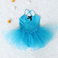 Il più nuovo 2019 Kids Girls Party Ballet Costume Tutu Dance Skate Dress 2-7Y # 2019.7.23