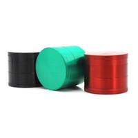 2019 lusso 4 strato dinamo stile tubo fumo di tabacco sigaretta rilevatore di fumo rettifica sigaretta macchina per sigarette sharpstone grinder