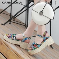 Karin 2020 Design Women Sandals Wedges platform Mixed Colors...