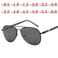 وصفة طبية نظارات لقصر نظر الديوبتر -0.5 -1.0 -1.5 إلى -6.0 النساء الرجال UV400 قصر النظر نظارات نظارات مع الديوبتر