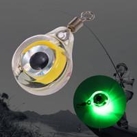Suministros de pesca Mini Led Submarino Noche pesca con señuelos de luz para atraer a los peces bajo el agua llevó la luz de la noche