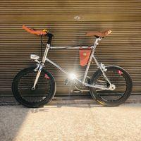 şerit sepet 20 inç sabit vites bisiklet Tek hızlı Retro bisiklet fixie eski şerit bisiklet çerçevesi mini vinbicycle