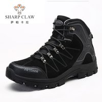 SHARCPCLAW Men Hiking Shoes Non- Slip Designer Wear- Resistant...