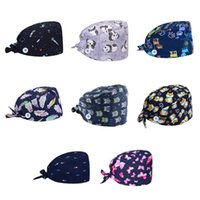 Unisex Berets Hat with Button Mask Holder Printing Bonnet Ca...