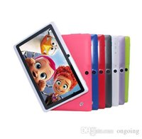 "7 polegadas Android 4.4 barato simples tablet pc wi-fi câmera dupla Quad Core 7"" guia da bateria pc tablets pc"
