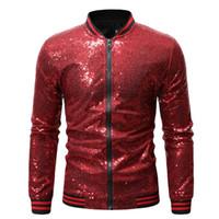 Tasarımcı Erkek Gece Kulübü Ceket Moda Pullarda İnce Hırka Coat Erkek Lüks Kabanlar
