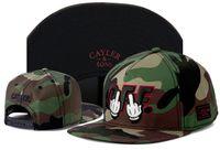 NOUVEAU Top qualité Cayler récent SONS Snapback Casquettes de base-ball réglable hip-hop chapeaux d'os d'été sport à bouton-pressoir Hat