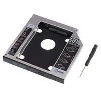 Лоток для жестких дисков SATA, универсальный 12,7-миллиметровый SATA-SATA 2-й твердотельный накопитель на жестком диске Адаптер для лотка Caddy Корпуса для DELL HP ThinkPad