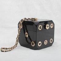 Мини сцепления кошелек Драгоценный подарок сумки роскошь Camellia Коллекция подарочной коробке Ценные кости сумки женщин сумка Тонкая сторона Великолепная сумка