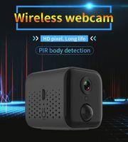 Wifi P2P Mini IP movimento visão 1080P PIR Noite detectar casa de segurança câmera de alarme monitor da fiscalização bebê Nanny Cam sem fio