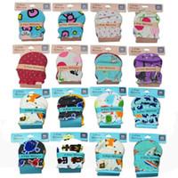 Baby Mittens 100% Bomull Nyfödda handskar Spädbarn Gauntlets Anti Catch Handskar Toppkvalitet Utskriftshandskar EEA1361