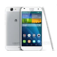 Remis à neuf Huawei G7 4G LTE 5.5 pouces Android 4.4 Smartphone Quad Core 2 Go de RAM 16 Go de ROM Dual SIM MobilePhone FDD