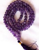 Free shipping Hot sale of Gemstone108 Mala beads buddhist pr...