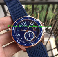 Factory Sale blue dial watch men 42mm blue balloon sapphire ...