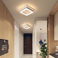 جديد أكريليك جولة مصباح الثريات لغرفة المعيشة غرفة نوم المنزل ac85-265v الحديثة بقيادة مصباح السقف الثريا تركيبات