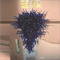 بسيطة مصممة مصمبات الإضاءة جميلة 100٪ الفم نفاد الزجاج مع 110 فولت -240 فولت لمبة الصمام مختلطة الثريا الملونة نمط ريفي لطيف