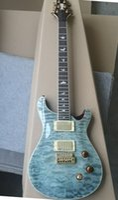 Gökyüzü mavi gitar özel logo ucuz ucuz özel gönderi hızlı fiyat kabul etmek