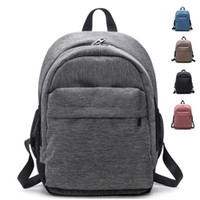 Nylon+Canvas Schoolbag Male and female shoulder bags High-capacity Computer package Leisure backpack Unisex Multifunctional outdoor 2098