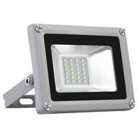 US STOCK 20W LED Lights d'inondation, lumières de sécurité LED IP65,6500K lumière du jour, équivalent 100W, projecteurs de plein air pour jardin, garage, pelouse, yard
