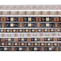 1M / 5M SK6812 RGBW (similar a WS2812B) RGBW 4 en 1 Chip 30 60 144leds / Pixels / m 5050 SMD Tira de LED direccionable IP30 IP65 IP67 DC5V