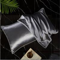 المخدة الحرير الطبيعي للشعر والجلد 19 Momme 600 عدد الموضوع 100 في المئة هيبوالرجينيك التوت الحرير وسادة الترجمة: