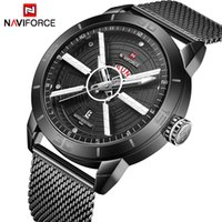 Naviforce Мужские Часы Водонепроницаемый Дата Календарь Наручные Часы Мужская Бизнес Повседневная Кварцевые Часы для Мужской Часы Reloj Hombre