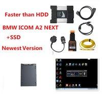 Idéal pour BMW ICOM WIfi SUIVANT A + B + C avec SSD Soft-Ware V06 / 2020 Super rapide pour BMW outil Icom plus portable a3 adaptent