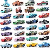 Venta al por mayor 39 Style Mater Jackson Storm Ramírez 1:55 Diecast Vehicle Metal Alloy Car Modelo Boy Kid Juguetes Regalo 10 PCS / Set