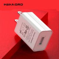 Hannord USB-Ladegerät 5V1A ULkzertifiziert US-Qualitäts-amerikanischen FCC Certified Smartphone Handy-USB-Ladegerät
